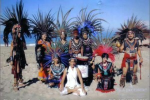 Tribes of Americas Oceandance in Mexico in Gratitude for Paris and to Heal Oceans after 337 Whales Died