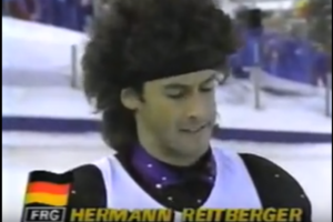 Hermann Reitberger – Men's ballet final, Calgary Olympic Games 1988